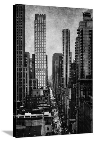 Towering New York-Pete Kelly-Stretched Canvas Print