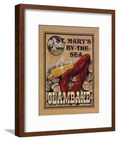 Clam Bake-Catherine Jones-Framed Art Print