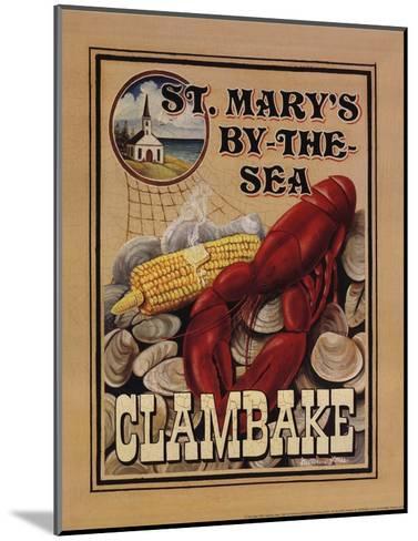 Clam Bake-Catherine Jones-Mounted Art Print