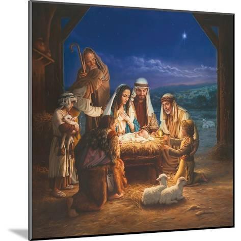 Holy Night-Mark Missman-Mounted Art Print