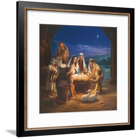 Holy Night-Mark Missman-Framed Art Print