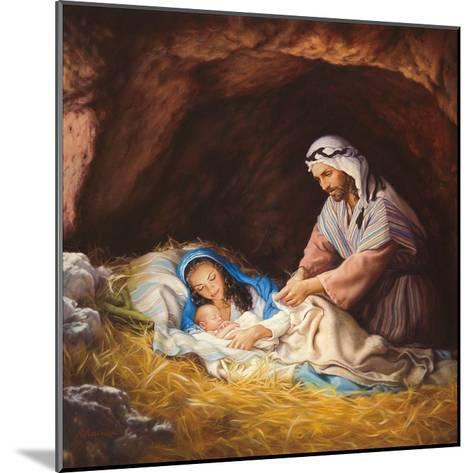 Sleep in Heavenly Peace-Mark Missman-Mounted Art Print