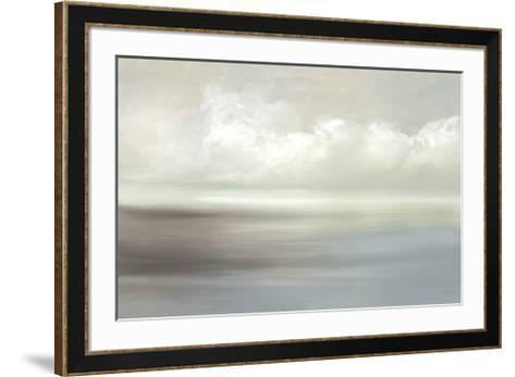 Shades Apart II-Cat Tesla-Framed Art Print