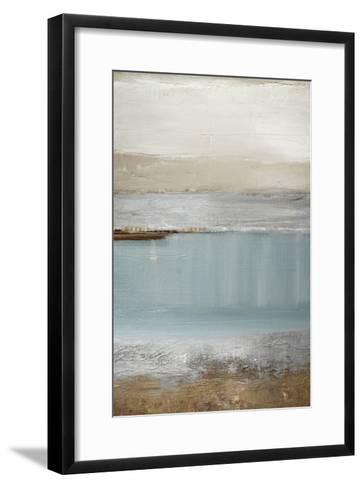 Echo Beach-Caroline Gold-Framed Art Print