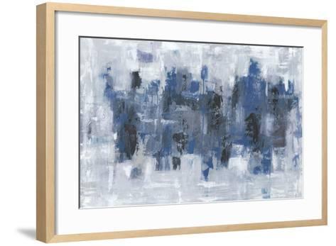 Midtown Moonlight-Emma Bell-Framed Art Print