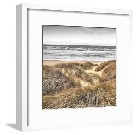 Beach Dunes-Assaf Frank-Framed Art Print
