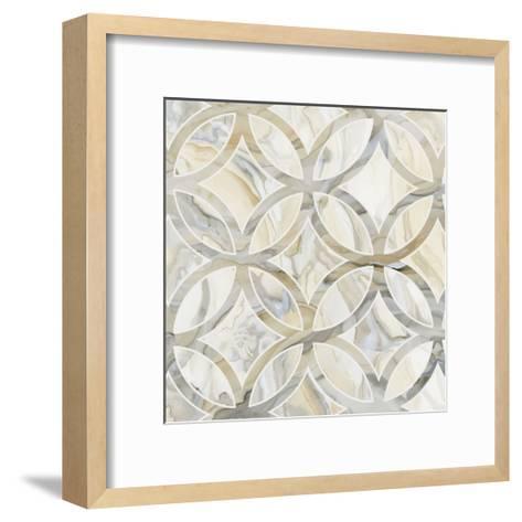 Onyx I-Debbie Banks-Framed Art Print
