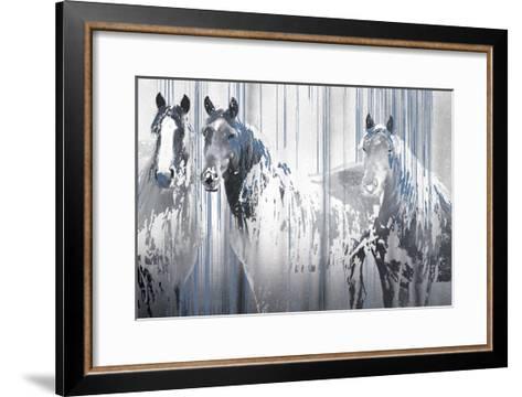 Three's Company-Marvin Pelkey-Framed Art Print