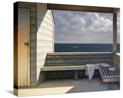 Sea Bench-Daniel Pollera-Stretched Canvas Print