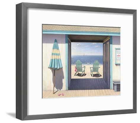 The Beach Club-Daniel Pollera-Framed Art Print