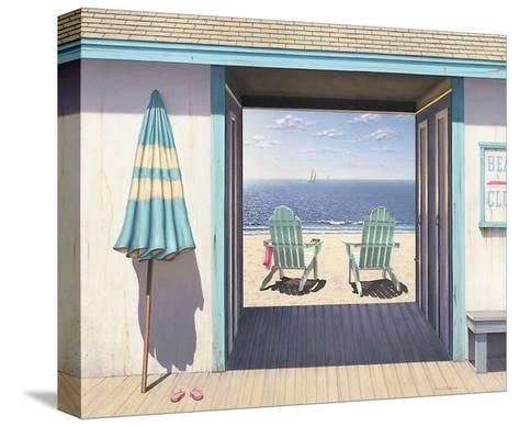 The Beach Club-Daniel Pollera-Stretched Canvas Print