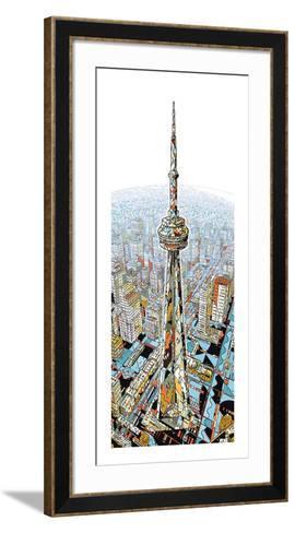 The Tower-HR-FM-Framed Art Print