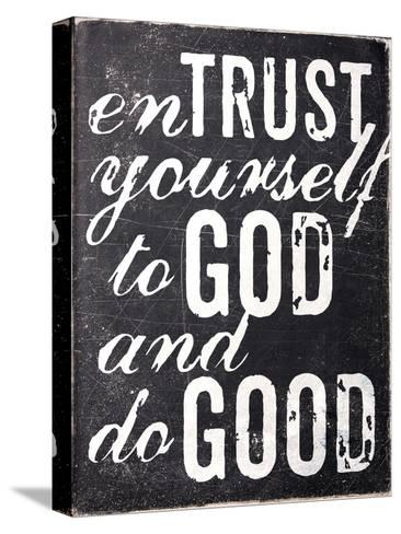 Entrust Yourself-Dallas Drotz-Stretched Canvas Print