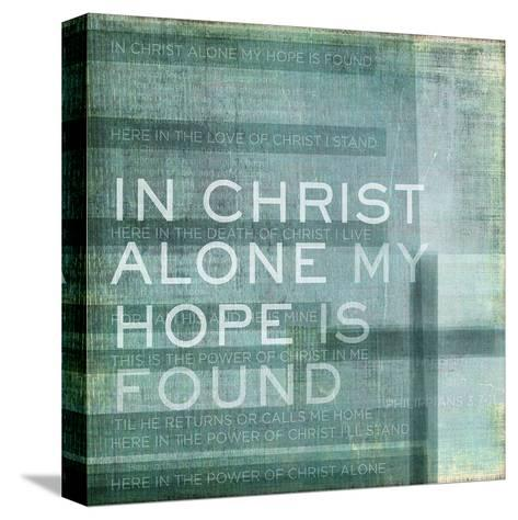 Alone My Hope-Dallas Drotz-Stretched Canvas Print