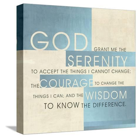 God Serenity-Dallas Drotz-Stretched Canvas Print