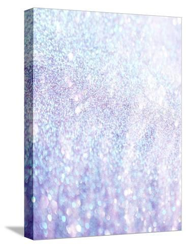 Silver Style Glitter-Wonderful Dream-Stretched Canvas Print