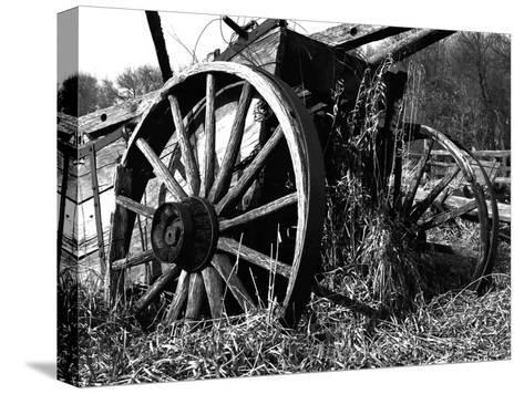Wooden Wagon-Mark Polege-Stretched Canvas Print