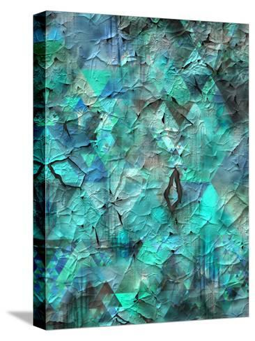 Triangles Abstract Pattern 28-Grab My Art-Stretched Canvas Print