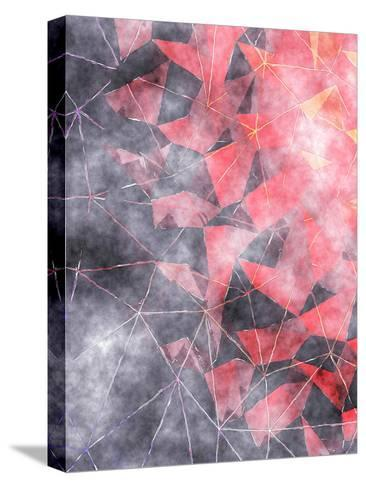 Triangles Abstract Pattern 7-Grab My Art-Stretched Canvas Print