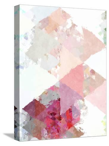 Triangles Abstract Pattern 11-Grab My Art-Stretched Canvas Print