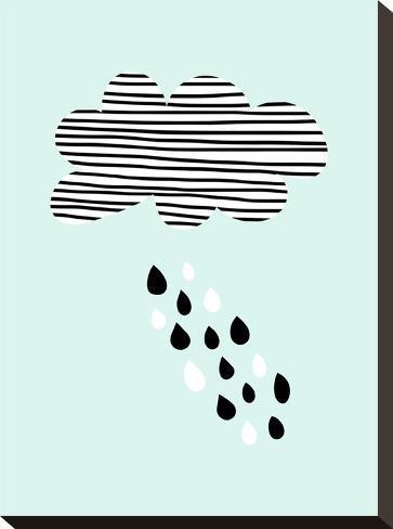 Cloud-Nanamia Design-Stretched Canvas Print