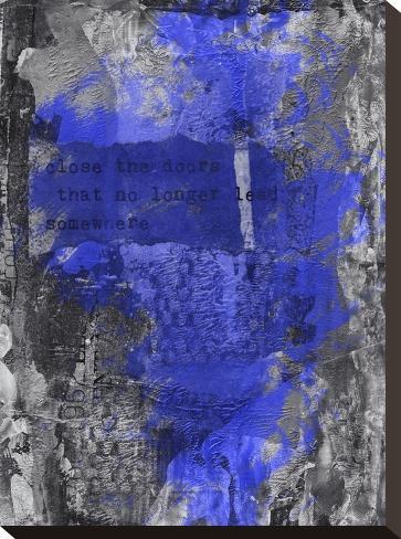 Close The Door 2-Lebens Art-Stretched Canvas Print