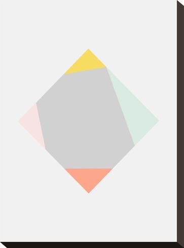 Square-Nanamia Design-Stretched Canvas Print