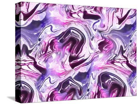 Marble-Lebens Art-Stretched Canvas Print