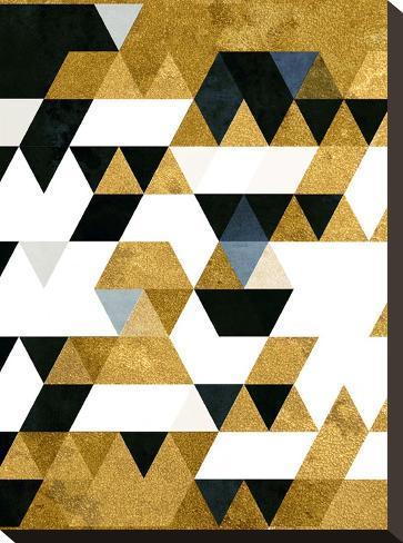 Gyldyn Yge-Spires-Stretched Canvas Print