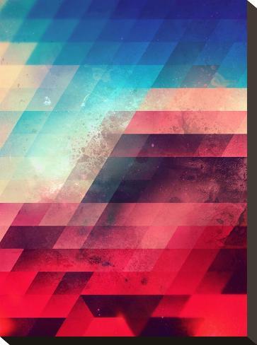 Skylyyn Crysh-Spires-Stretched Canvas Print
