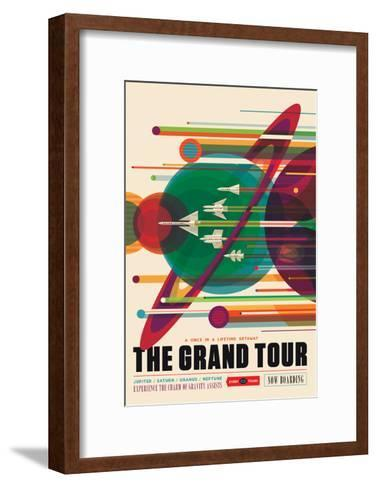 NASA/JPL: Visions Of The Future - Grand Tour--Framed Art Print