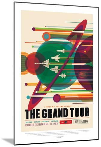 NASA/JPL: Visions Of The Future - Grand Tour--Mounted Poster