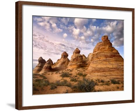Arizona Peaks I-David Drost-Framed Art Print