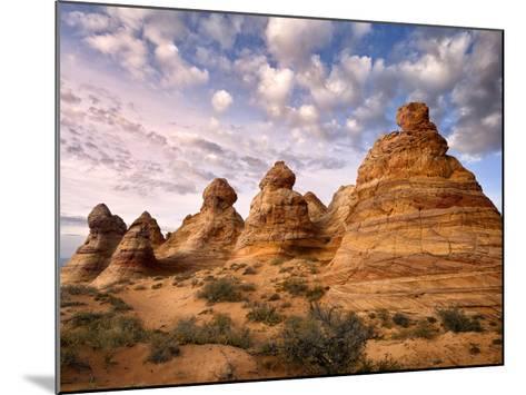 Arizona Peaks I-David Drost-Mounted Art Print