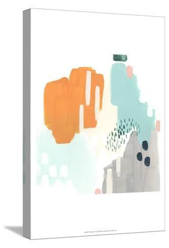 Precept I-June Erica Vess-Stretched Canvas Print
