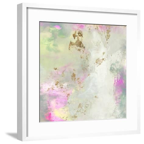 Pastel Swoop II-Jennifer Goldberger-Framed Art Print