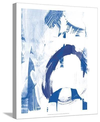 Blue Scribbles IV-Vision Studio-Stretched Canvas Print