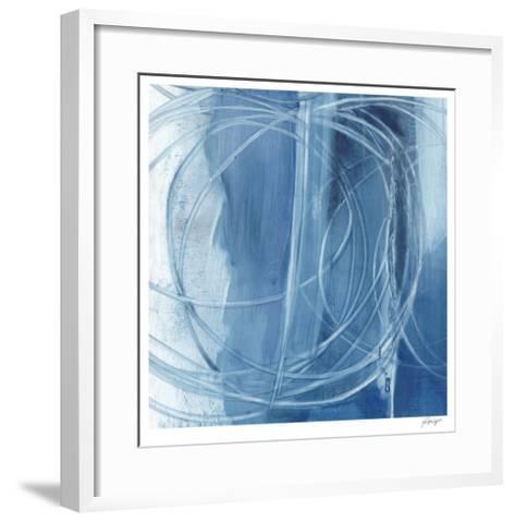 Indigo Expression IV-Ethan Harper-Framed Art Print