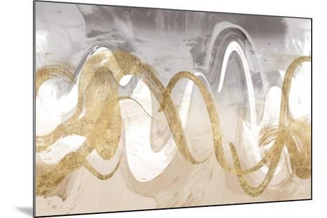 Infinite Swirl II-Jennifer Goldberger-Mounted Art Print