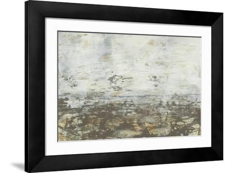 Neutral Horizon III-Jennifer Goldberger-Framed Art Print