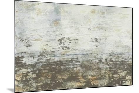 Neutral Horizon III-Jennifer Goldberger-Mounted Art Print