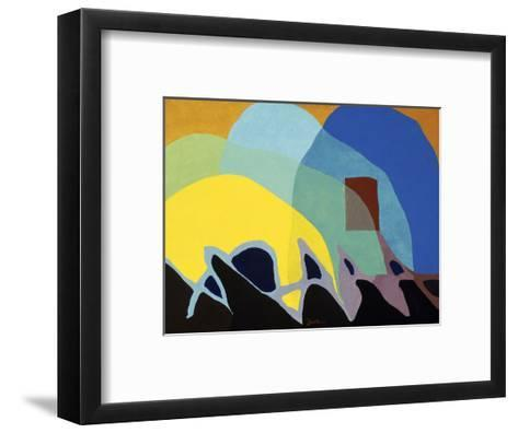 Dancing Willows, about 1944-Arthur Dove-Framed Art Print