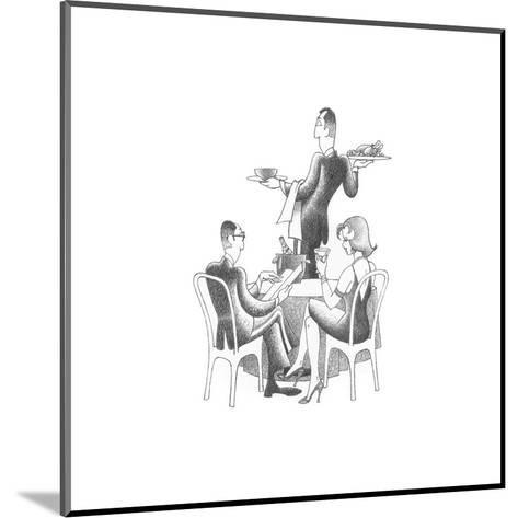 Dining Out-Roger Vilar-Mounted Art Print