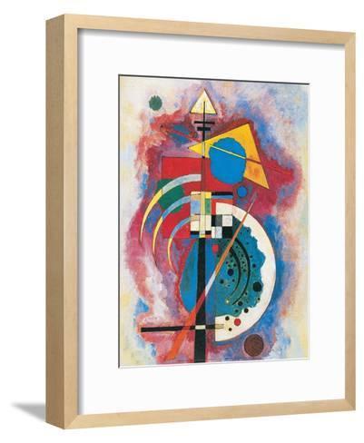 Hommage a Grohmann, 1926-Wassily Kandinsky-Framed Art Print