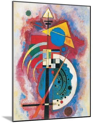 Hommage a Grohmann, 1926-Wassily Kandinsky-Mounted Art Print