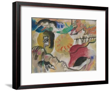 Improvisation 27 (Garden of Love II), 1912-Wassily Kandinsky-Framed Art Print