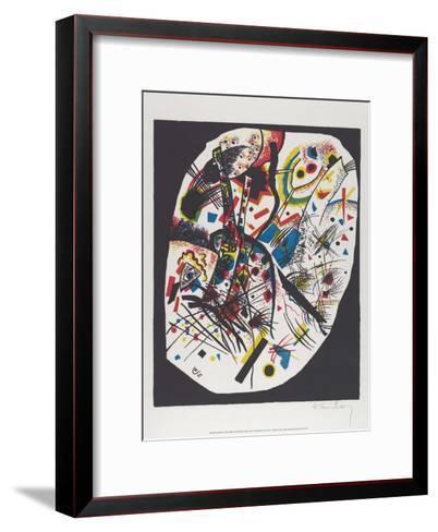 Kleine Welten III (Small Worlds III), 1922-Wassily Kandinsky-Framed Art Print