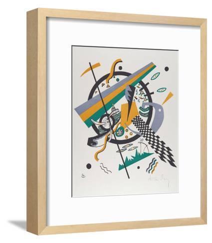 Kleine Welten IV (Small Worlds IV), 1922-Wassily Kandinsky-Framed Art Print