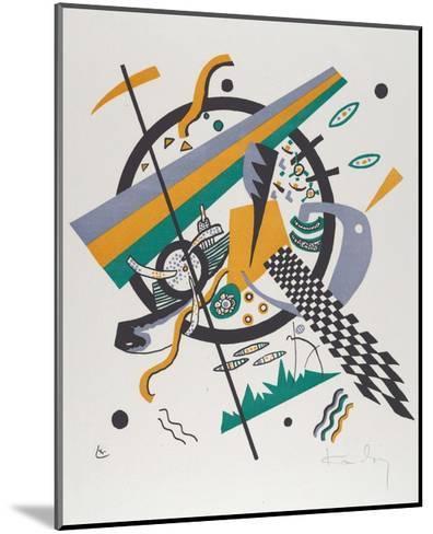 Kleine Welten IV (Small Worlds IV), 1922-Wassily Kandinsky-Mounted Art Print