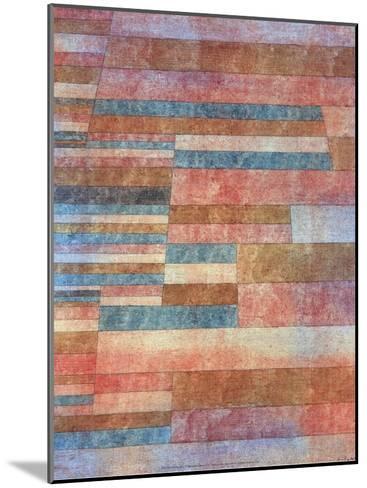 Steps, 1921-Paul Klee-Mounted Art Print